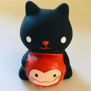 Chinese Ceramic Small  Cat for Protection & Luck